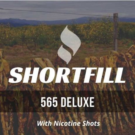 565 Deluxe Tobacco Shortfill with Nicotine Shots (Virginia)