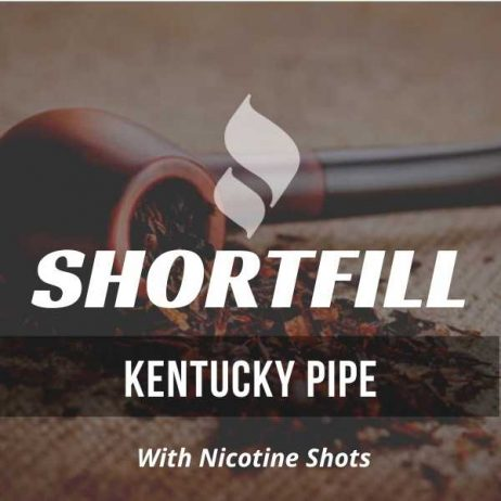 Kentucky Pipe Tobacco  Shortfill with Nicotine Shots (Pipe, Bourbon)