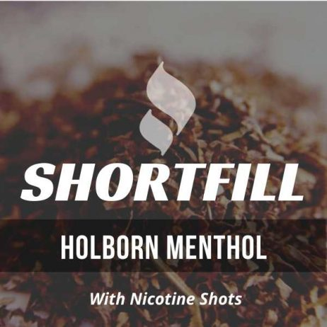 Holborn Menthol Tobacco  Shortfill with Nicotine Shots (Roll up, Menthol)