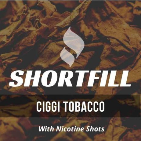 Ciggi Tobacco  Shortfill with Nicotine Shots (Cigarette)