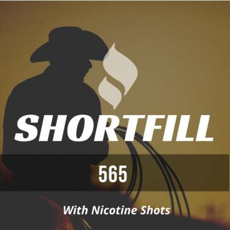 565 Tobacco Shortfill with Nicotine Shots (Nutty, Virginia)