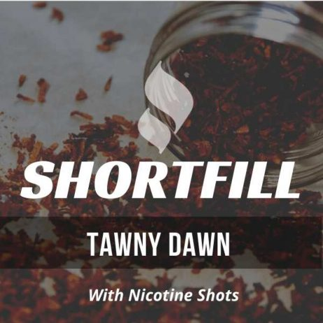 Tawny Dawn Tobacco  Shortfill with Nicotine Shots (Dark Pipe)