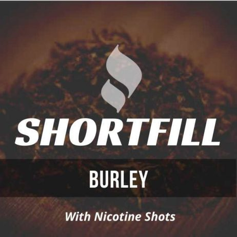 Burley Tobacco Shortfill with Nicotine Shots (Dark Burley)