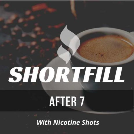 After 7 Coffee Tobacco Shortfill with Nicotine Shots (Coffee, Tobacco)
