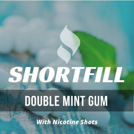 Double mint Gum Shortfill with Nicotine Shots (Chewing Gum)