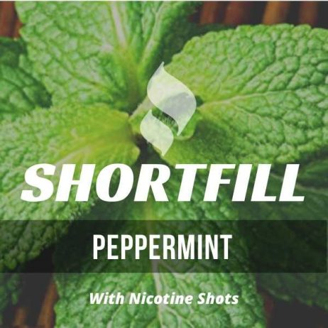 Peppermint Shortfill with Nicotine Shots (Peppermint)
