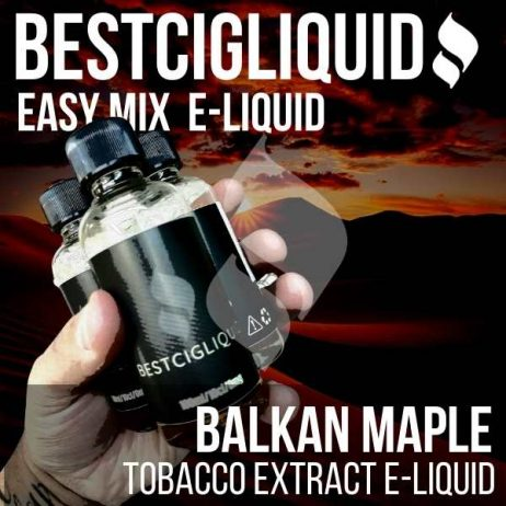 Balkan Maple Tobacco E-liquid Easy Mix (Maple, Balkan, Latakia)