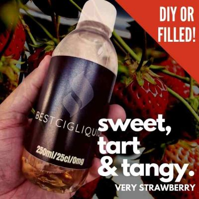 Very Strawberry Bottle Flavour Shot E-liquid (Mixed Strawberry)