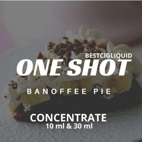 Banoffee Pie One Shot Concentrate