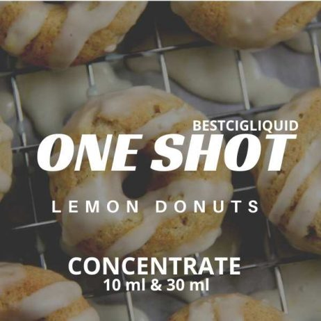 Lemon Donuts One Shot Concentrate