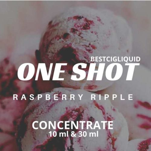 Raspberry Ripple Ice Cream One Shot Concentrate