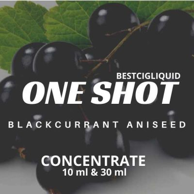 Blackcurrant Aniseed One Shot E-liquid Concentrate