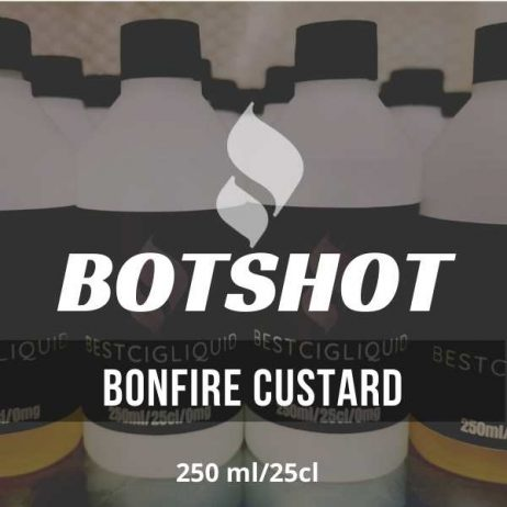 Bonfire Custard Bottle Flavour Shot E-liquid (Caramel, Smokey, Custard)