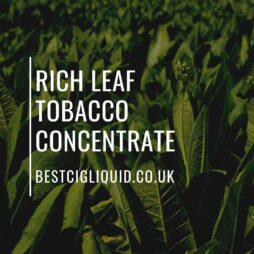 Rich Leaf Tobacco Concentrate