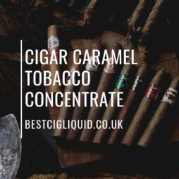 Cigar Caramel Tobacco Concentrate