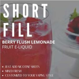 Berry Flush Lemonade E-liquid Shortfill