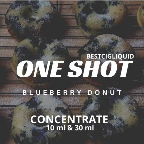 Blueberry Donut One Shot E-liquid Concentrate