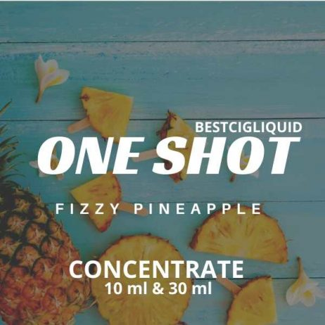 Fizzy Pineapple One Shot E-liquid Concentrate