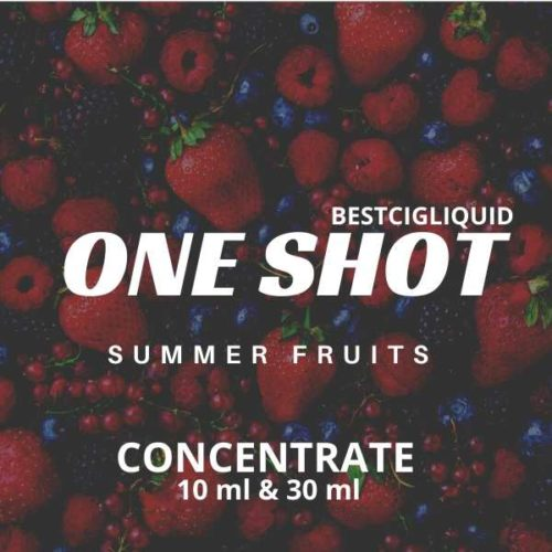 Summer Fruits One Shot E-liquid Concentrate