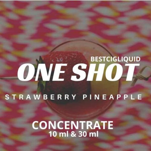 Strawberry Pineapple One Shot E-liquid Concentrate