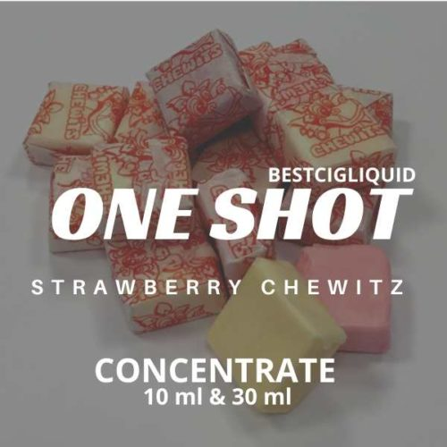 Strawberry Chewitz One Shot E-liquid Concentrate