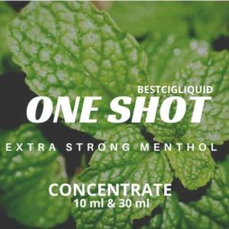 Extra Strong Menthol One Shot