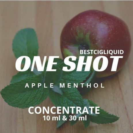 Apple Menthol one shot concentrate