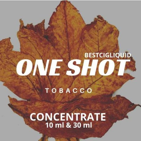 Tobacco One Shot E-liquid Concentrate