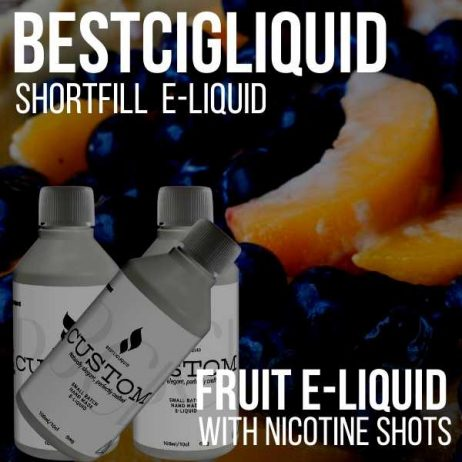 3 x 100 ml FRUIT Shortfill Bundle with Nicotine Shots