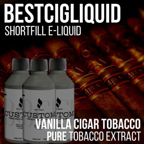 Vanilla Cigar Tobacco Shortfill