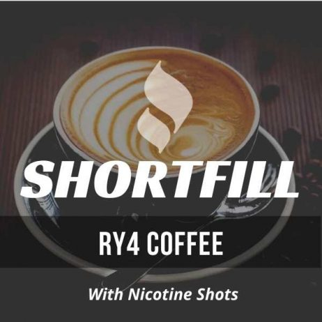 RY4 Coffee Tobacco Shortfill with Nicotine Shots (Vanilla, Coffee Flavour)