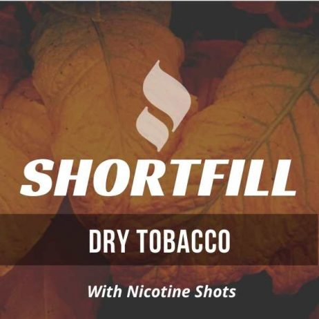 Dry Tobacco Shortfill with Nicotine Shots (Dry, Cigarette)