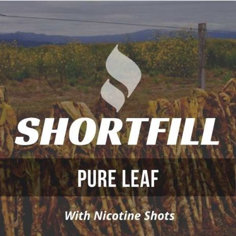 Pure Leaf Tobacco Shortfill with Nicotine Shots (Red Virginia, Latakia Flavour)