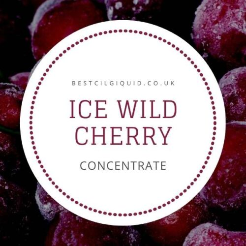 Icy Wild Cherry E-liquid Concentrate