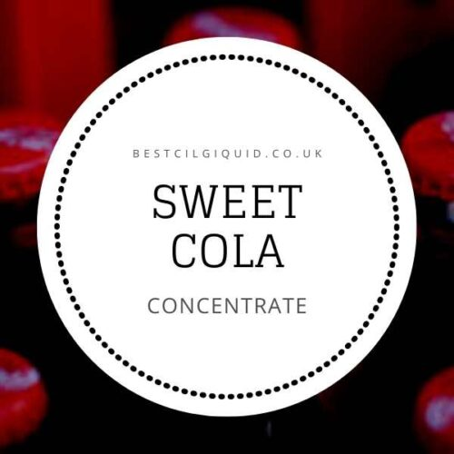 Sweet Cola E-liquid Concentrate