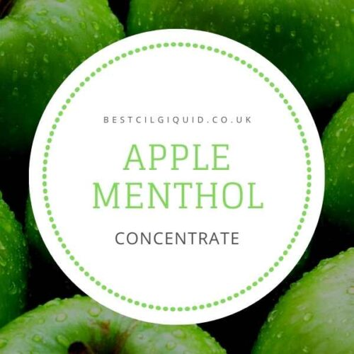 Apple Menthol E-liquid Concentrate