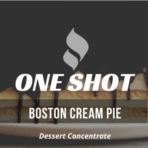 Boston Cream Pie One Shot
