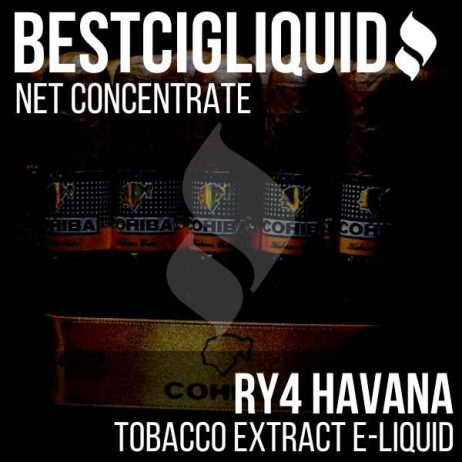 RY4 Havana tobacco concentrate