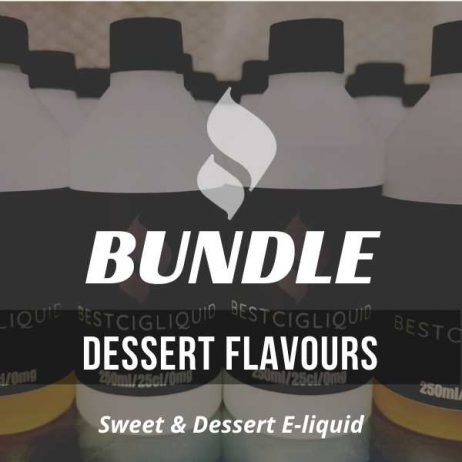 Sweet & Dessert E-liquid Bundle
