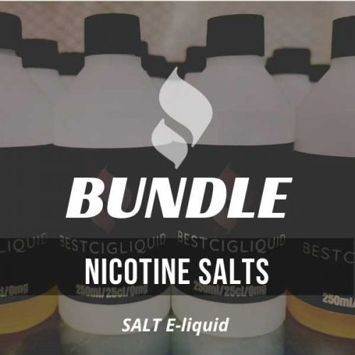 300 ml Nicotine Salts E-liquid Bundle
