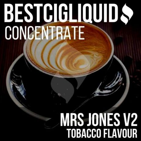 Mrs Jones V2 Tobacco Concentrate (Dark Coffee, Tobacco)