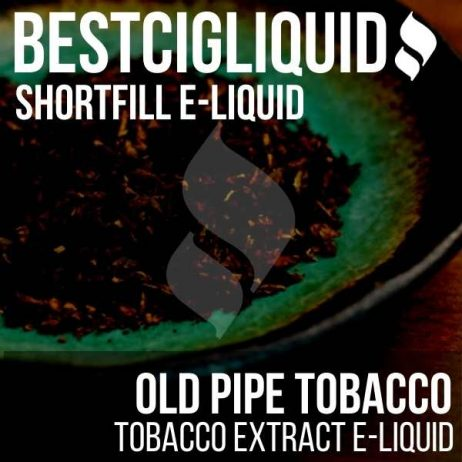 Old Pipe Tobacco Shortfill with Nicotine Shots (Virginia, Bright Leaf, Turkish)