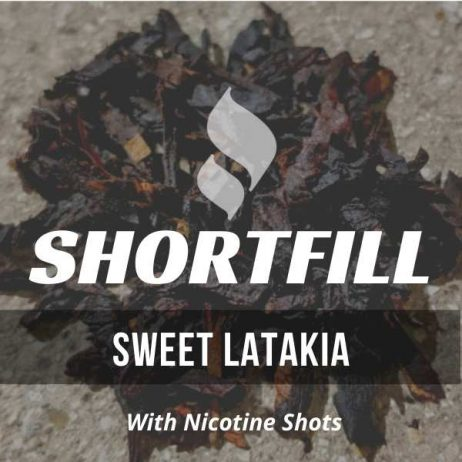 Sweet Latakia Tobacco Shortfill with Nicotine Shots (Latakia, Maple, Sweet)