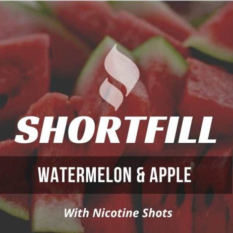 Watermelon & Apple Shortfill with Nicotine Shots (Watermelon, Apple)