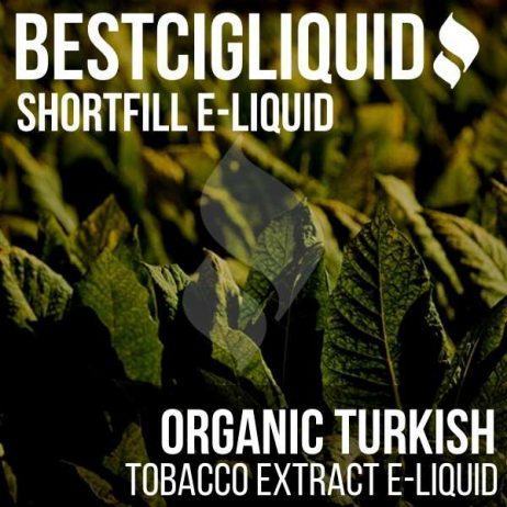 Organic Turkish Shortfill with Nicotine Shots (Cuban, Cigar, Virginia)
