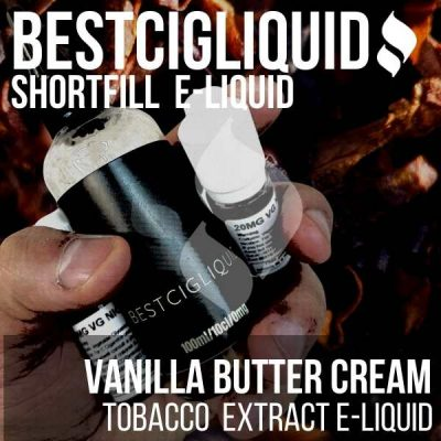 Vanilla Butter Cream Tobacco E-liquid (Butter, Cream, Vanilla)