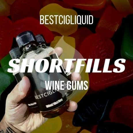 Wine Gums Shortfill with Nicotine Shots (Candy, Sweet, Fruity)