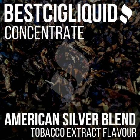NEW! American Silver Blend Tobacco Concentrate (Cigarette, Strong)