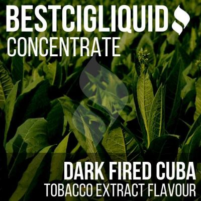 Dark Fired Cuba 100% Natural Extracted Tobacco Concentrate