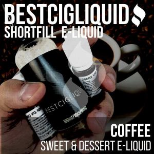 Coffee E-liquid (Caramel, Coffee)